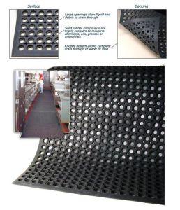 Anti-Slip Kitchen Mats Rubber Flooring Drainage Rubber Mat Oil Resistance Rubber Mat Anti Fatigue Rubber Mat pictures & photos