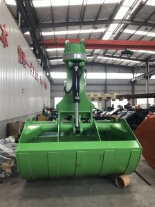 Excavator Rotating Clamshell Bucket Hydraulic Soil Grab Bucket pictures & photos