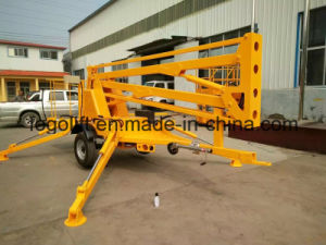 12m Cherry Picker Articulated Boom Lift pictures & photos