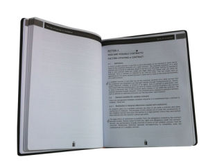 High Quality PU Cover Book (YY-B0300) pictures & photos