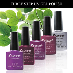 Easy Soak off Pure Gel Colour UV Gel Polish 10ml Three Steps Nail Art pictures & photos