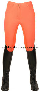 Horse Riding Full Seat Breeches for Lady (SMB3060) pictures & photos