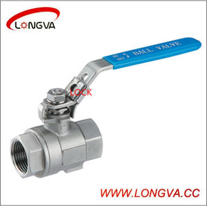 Stainless Steel Female Thread 2-PC Ball Valve pictures & photos