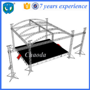 Top Quality Arched Roof Aluminum Truss System