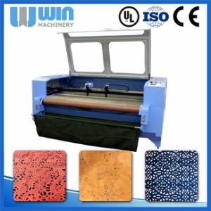 CO2 CNC Laser Machine to Cut Lace Fabric (LM1610D) pictures & photos