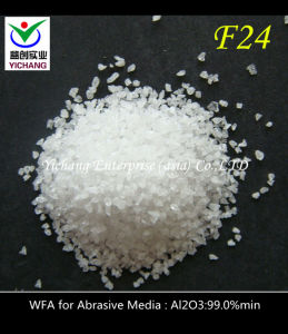 White Corundum Grit for Shotblasting pictures & photos