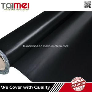 Factory Price Black PVC Coated Tarpaulin pictures & photos