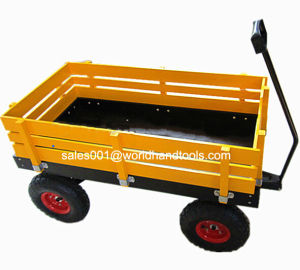 Wooden/Garden Kids Wagon pictures & photos
