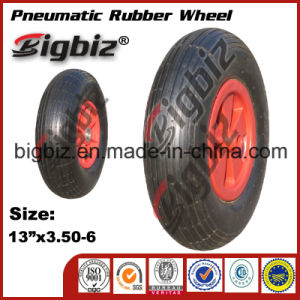3.50-5 Solid Rubber Wheels Tyre/Tire for Trolley pictures & photos