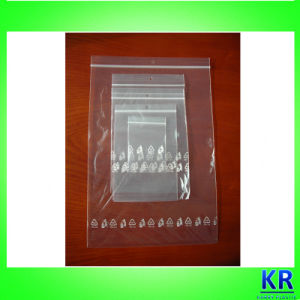 PE Material Transparent Reclosable Bags with Hole on Top pictures & photos