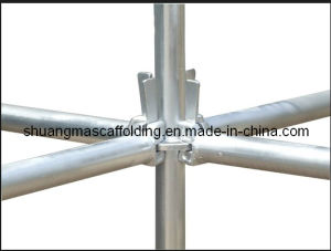 Marine Ring Lock Scaffolding System Quick Type Shuttering Scaffolding Manufacturer in Guangzhou, China pictures & photos