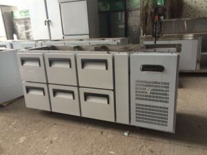 Cheering Commercial Customized Stainless Steel Work Table Refrigerator pictures & photos