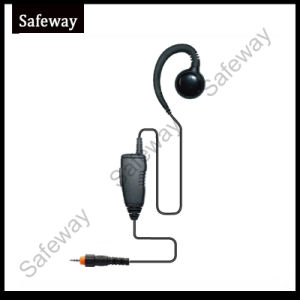 Walkie Talkie Earphone with Soft Earhook for Motorola Clp446 pictures & photos