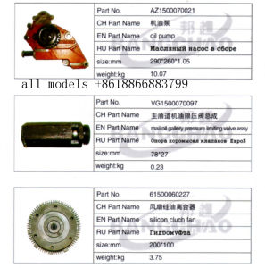 Sinotruck HOWO Shacm Foton Truck Spare Parts Auto Accessory Water Pump pictures & photos