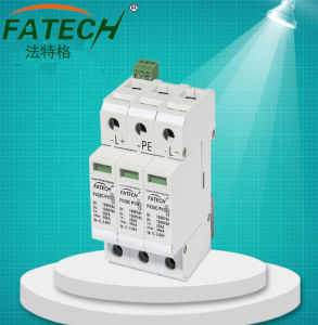 for PV System DC 1000V Photovoltaic Surge Protector pictures & photos