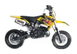 Dirt Bike (SN-GS395-S-YELLOW)