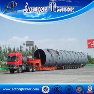 9 Line-Axle Hydraulic Steering Modular Trailer pictures & photos