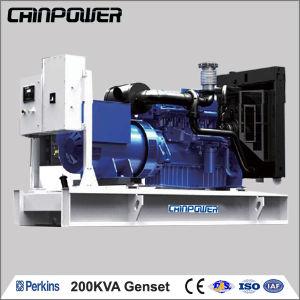 200kVA 160kw 50Hz 230/400V UK-Perkins Open Diesel Genset