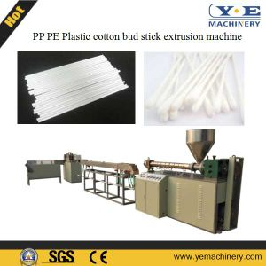 China PP Plastic Cotton Bud Tube Extrusion Machine pictures & photos