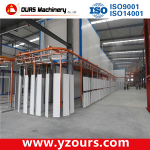 Automatic Powder Coating Line for Metal Sheets pictures & photos