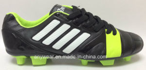Men′s Soccer Football Shoe with TPU Outsole Footwear (815-6410) pictures & photos