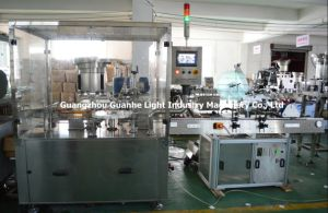 Automatic Oral Liquid Filling Capping Machine with Labeling (GHAFM-2-1) pictures & photos