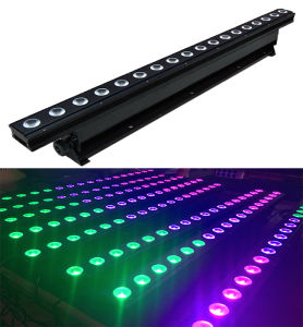 18LEDs*8W RGBW 4in1 LED Wall Washer Indoor Stage Light pictures & photos