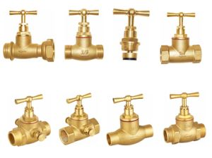 Brass Stop Valve for Water Male X Male (a. 0144) pictures & photos