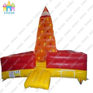 Hot Selling PVC Amusement Inflatable Water Rock Climbing Wall pictures & photos