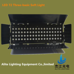 Alite Lighting High Quality and Lowest Price Novel Stage LED 72PCS Three-Basic Soft Spot Light