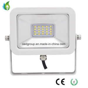IP65 Ultra-Slim White Case 10W LED Floodlight with 2835SMD 120lm/W PF 0.95 iPad Floodlight pictures & photos