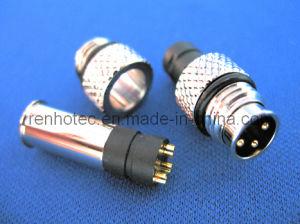 M8 Connector Circular Io Connector 2/3/4/5pin (RH-IO-0009) pictures & photos