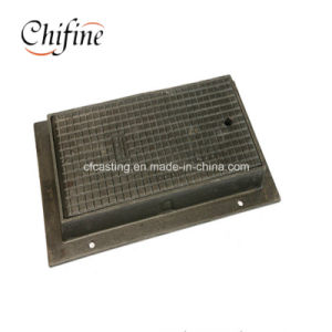 En124 C250 Ductile Sand Cast Iron Square Drain Cover pictures & photos