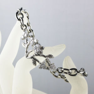 Charms Bracelet Footprints Stainless Steel Chain Bracelet Weeding Jewelry pictures & photos