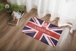 British Style Doormat Entrance Mat Floor Mat Rug 2311 pictures & photos