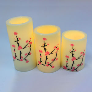 Plastic Twinkling Shining Indoor Decorative Artificial LED Candle Lamp pictures & photos