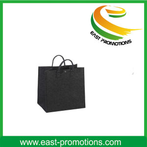Wholesale Fashion Felt Handle Bag with Pocket pictures & photos
