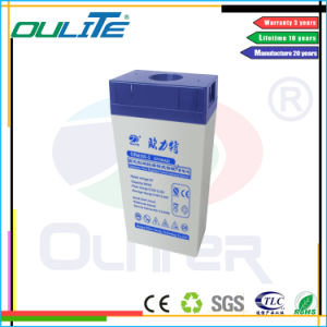 Oliter Promotional 300ah 2V Lead Acid Battery pictures & photos