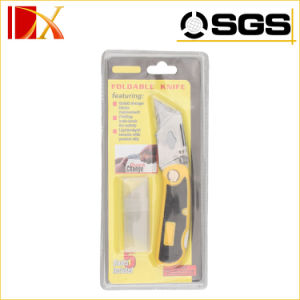 19mm Carbon Steel Replaceable Blade Folding Cutter Utility Knife pictures & photos