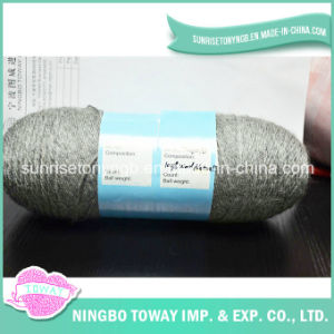 Weaving Sweater Patterns Baby Gray 100% Pure Wool Cashmere Yarn pictures & photos