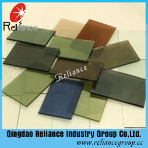 4-8mm Dark Green/F Green Tinted Float Glass and Reflective Glass pictures & photos