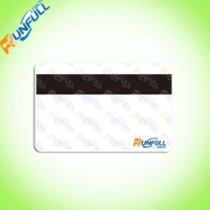 Plastic Key Tag Card with Offset Printing and Perforation pictures & photos
