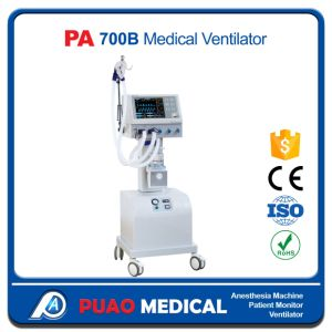 PA 700b Advanced Model Medical Ventilator pictures & photos
