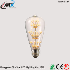 Hot Sale A19 2W 2700K Daylight LED Edison Antique Bulb pictures & photos