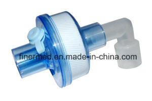 Heat Moisture Exchange Hmef Filters with Bend Connector pictures & photos