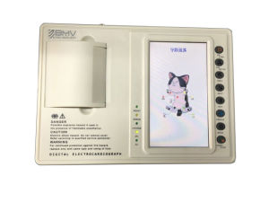 12 Lead 3-Channel Printer Entry-Level Touch ECG Machine (Bes-307dt) pictures & photos