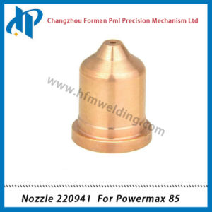Nozzle 220941 for Power Max 85 Plasma Cutting Torch Consumables 45A pictures & photos