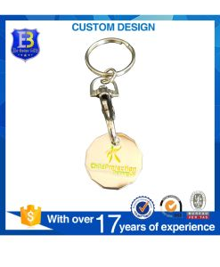 New Europe Trolly Coin with Keyring for Promotion pictures & photos