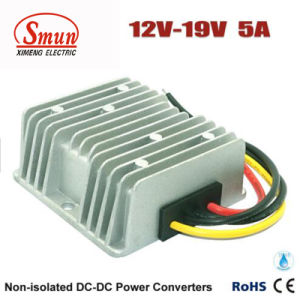 Waterproof IP68 12V to 19VDC 5A DC-DC Converter Power Supply pictures & photos