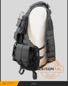 Molle Tactical Vest with Durable Double Layers Mesh Fabric pictures & photos